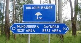 Binjour Range Rest Area