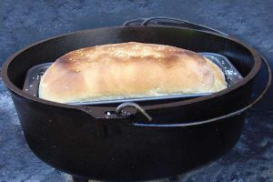 Camp Oven Bread
