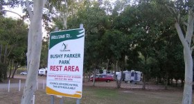 Bushy Parker Park Rest Area