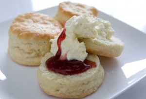 Camp Oven Lemonade Scones