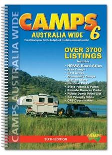 Camps Australia Wide 6 Spiral Bound