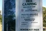 Northeast Park Free Camp