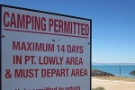 Point Lowly Free Camp