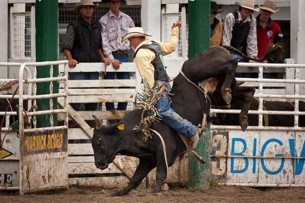 Warwick Rode and Campdrafting